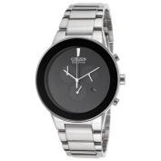 Citizen Men's Axiom Chronograph Stainless Steel Black Dial