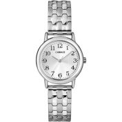 Carriage Women's Silver-Tone Watch with Stainless Steel Expansion Band