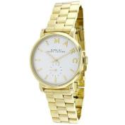 Marc By Marc Jacobs Women's Baker MBM3243 Goldtone Stainless Steel Swiss Quartz Watch with Silvertone Dial