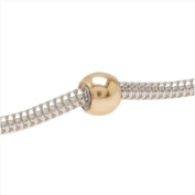 14K Gold Filled Round 5mm Smart Bead Stoppers Fits 2mm Chain