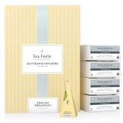 Tea Forte BULK PACK English Breakfast Black Tea, 48 Handcrafted Pyramid Tea Infusers