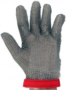 UltraSource 441030-M Stainless Steel Mesh Glove, Wrist Length Cuff with Sewn in Strap, Size Medium, Each