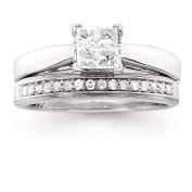 Always & Forever Platinaire 1/2 Carat T.W. Diamond Quad Bridal Set