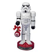 Kurt Adler Stormtrooper with Ball Ornament Nutcracker, 30cm