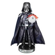 Kurt Adler Darth Vader with Death Star Nutcracker, 25cm