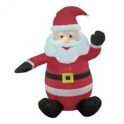 1.2m Christmas Inflatable Santa Claus Blow-Up Yard Decoration