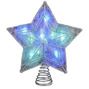Kurt Adler UL 10-Light LED Colour-Changing Star Treetop