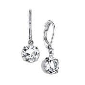 1928 Jewellery Womens Silver-Toned Genuine Elements Costume Drop Earrings