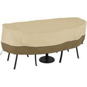 Classic Accessories Veranda 55-233-011501-00 Bistro Table and Chair Cover, Pebble