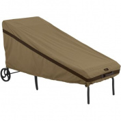 Classic Accessories Hickory Patio Chaise Cover, Tan