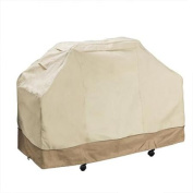 Villacera High Quality Grill Cover, Beige & Brown, Large