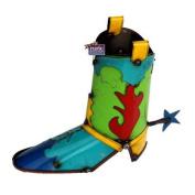 Rustic Arrow Boot Statue
