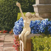 Design Toscano Maiden of Peace Sitting Woman Statue