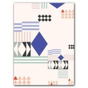Asymmetrical Collection Notecards