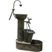 Alpine Corporation-Tiering Tin Fountain MAZ186