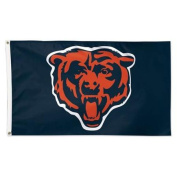 Chicago Bears Official NFL 0.9m X 1.5m Banner Flag by Wincraft