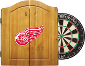 Imperial Officially Licenced NHL Dart Cabinet Set with Steel Tip Bristle Dartboard and Darts.