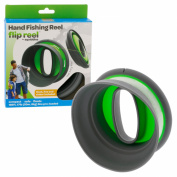 Kids Fishing Set - Hand Reel With Line and Tackle - New On the Go Design - By Squiddies