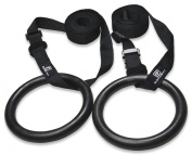 Gymnastic Rings - Premium Heavy Duty Cross Training, Gymnastics, Fitness, Exercise Rings