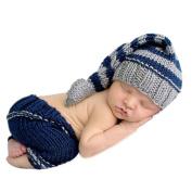 Coromose 2015 Newborn Baby Girls Boys Crochet Knit Costume Photo Photography Prop