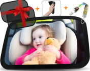 Baby Back Seat Car Mirror. For Mom Rear View! T-H-E Gift Set