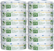 Munchkin Nursery Fresh Refill for Nappy Genie - 272 ct - 12 pk