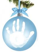 Tiny Ideas Baby's Handprint Ornament, Ball