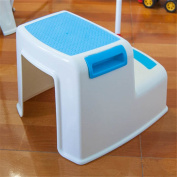 Children's Slip Resistant Two Levels Step Stool