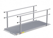 EZ-ACCESS Gateway 1.8m Ramp with handrails, 32kg