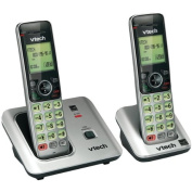 VTEVTCS66192 - VTECH VTCS6619-2 DECT 6.0 Expandable Speakerphone with Caller ID