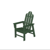 110cm Recycled Earth-Friendly Outdoor Adirondack Dining Chair - Green
