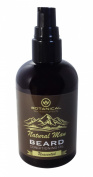 Natural Man Unscented Beard Oil 120ml All Natural Beard Conditioner (No Added Fragrance) by Botanical Skin Works