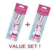 FT Shiseido Facial Razor 3pcs(L) x 2 Pack (total 6 pcs) Value Set