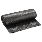 Boardwalk Light-Grade Can Liners, 24 x 32, 60.6l, .35 Mil, Black, 25/Roll - Includes 20 rolls of 25 liners, 500 can liners per case.