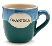 1 X Grandma Teal Porcelain Coffee Tea Mug Cup 470ml Gift Box