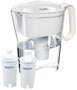 Brita Wave 10-Cup Water Pitcher Plus 2 Advance Filters, Assorted Colours