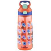 Contigo 590ml Kids Striker Autospout Water Bottle - Tango Pink Flower