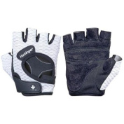 Harbinger 139 Women's FlexFit Weight Lifting Gloves - Medium - Black/White