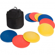 Trademark Innovations Disc Golf Set, 9 Discs With Disc Golf Bag