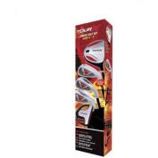 Merchants of Golf Tour X Size 2 Ages 8-11 5pc Jr Set with Stand Bag