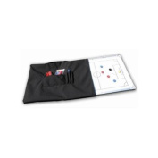 Dry Erase Magnetic Board Bag in Black