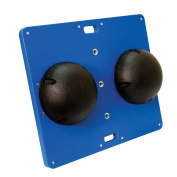 CanDo Balance Board 38cm x 46cm , 7.6cm Height, Black