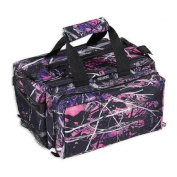 Bulldog Cases Muddy Girl Camo Range Bag, Deluxe, with Strap - 13inx7inx7in BD910