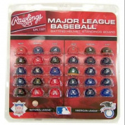MLB Official MLB 3.8cm Mini Baseball Batting Helmet Standings Board by Rawlings