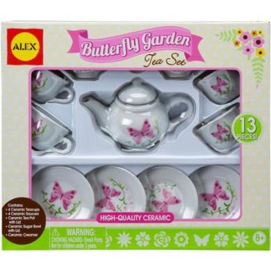 ALEX Toys Butterfly Garden Tea Set