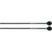 Mike Balter Shadow Series Black Birch Handle Marimba Mallets Black Cord Medium Hard