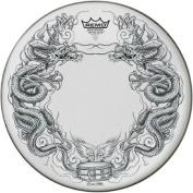 Remo Tattoo Skyn Drumhead 36cm Dragon Skyn Graphic