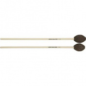 Mike Balter Universal Series Birch Handle Marimba Mallets Brown Yarn Med Hard - Hard