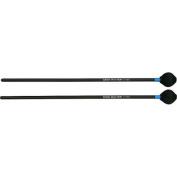 Mike Balter Shadow Series Black Birch Handle Marimba Mallets Black Cord Medium