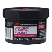 3M Chrome & Metal Polish Wheel Cleaner Paste 300ml Tub - Car Auto Detail 39527